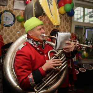 Carnavalsstichting De Kei 22-02-2020 Sleutel afhalen